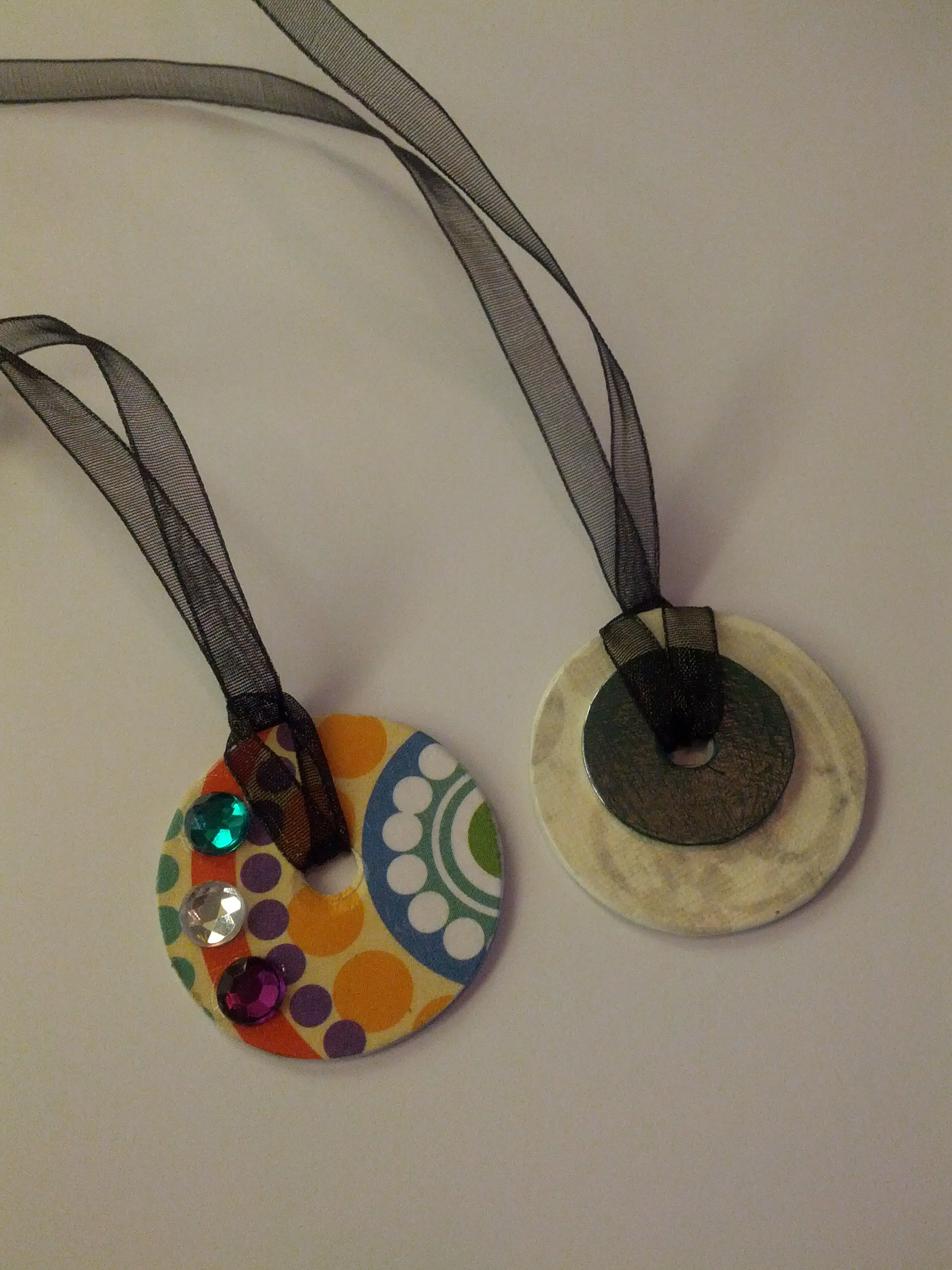 washer necklaces frabjus and the screwy carpenter