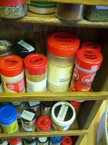 Spice Jar Labeling