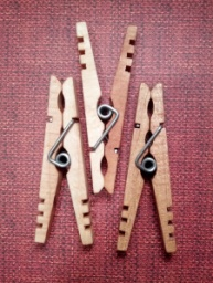 Side by Side Kevin's Quality Clothespins