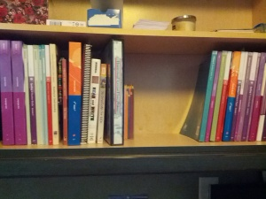 My Lesson Planning Shelf