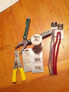 Clothespin Trivet Supplies